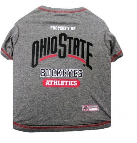 OHIO STATE DOG TEE SHIRT, NCAA - Bones Bizzness