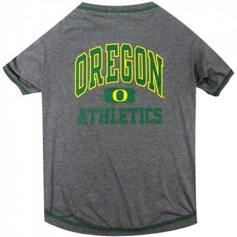 OREGON DUCKS DOG TEE SHIRT, NCAA - Bones Bizzness