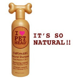 OATMEAL NATURAL DOG SHAMPOO, Groom - Bones Bizzness