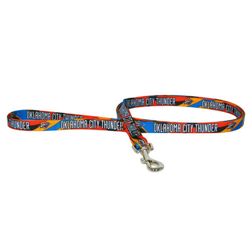 OKLAHOMA CITY THUNDER DOG LEASH, NBA - Bones Bizzness