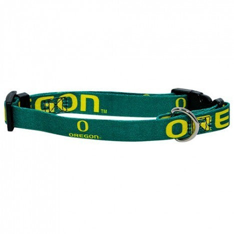OREGON DUCKS DOG COLLAR, NCAA - Bones Bizzness