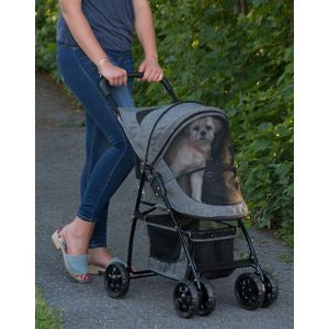 Happy Trails Pet Stroller - DARK PLATINUM
