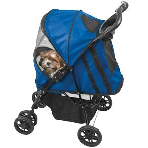 Happy Trails Stroller - Cobalt Blue, Strollers - Bones Bizzness