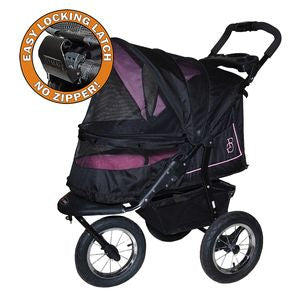 NV NO-ZIP Pet Stroller - Rose, Strollers - Bones Bizzness