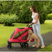 EXCURSION NO-ZIP PET STROLLER - CANDY RED, Strollers - Bones Bizzness