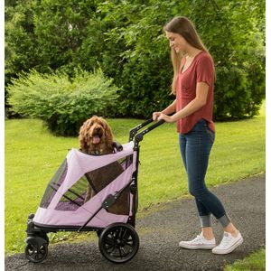 EXCURSION NO-ZIP PET STROLLER - MOUNTAIN LILAC, STROLLERS - Bones Bizzness