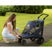 EXCURSION NO-ZIP PET STROLLER - MIDNIGHT BLUE, STROLLERS - Bones Bizzness