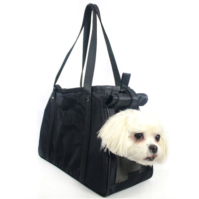 BLACK CHARLIE DOG BAG CARRIER, Carriers - Bones Bizzness
