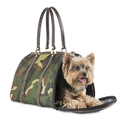 JL CAMO PETOTE DUFFLE DOG CARRIER