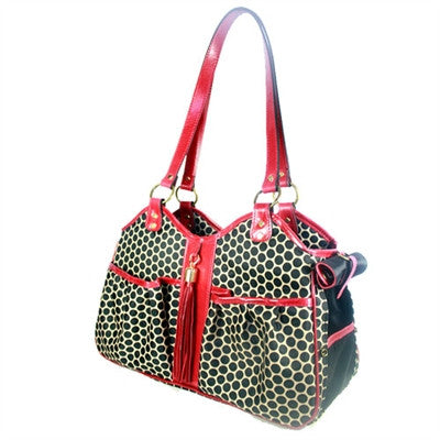 METRO COUTURE - BLACK CHERRY LEATHER TRIM, Carriers - Bones Bizzness