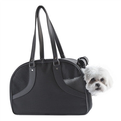 ROXY DOG BAG CARRIER - BLACK, Carriers - Bones Bizzness