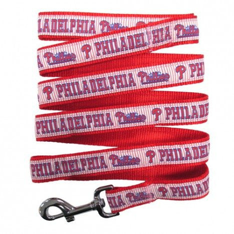 PHILADELPHIA PHILLIES DOG LEASH – RIBBON, MLB - Bones Bizzness