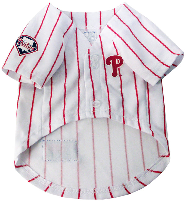 PHILADELPHIA PHILLIES DOG JERSEY – PINSTRIPE, MLB - Bones Bizzness
