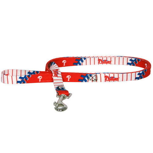 PHILADELPHIA PHILLIES DOG LEASH, MLB - Bones Bizzness