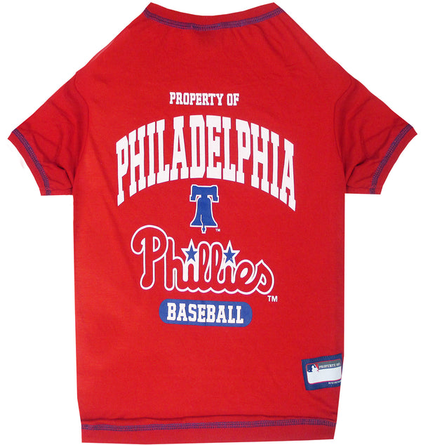 PHILADELPHIA PHILLIES DOG TEE SHIRT, MLB - Bones Bizzness