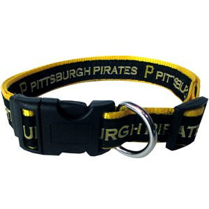 PITTSBURGH PIRATES DOG COLLAR – RIBBON, MLB - Bones Bizzness