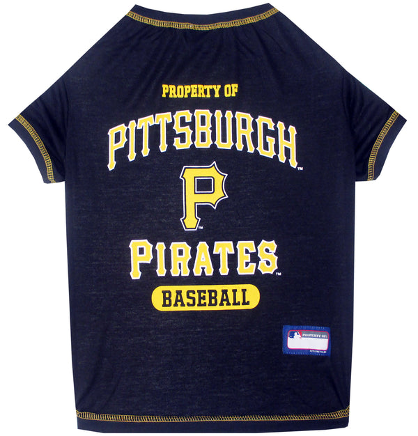 PITTSBURGH PIRATES DOG TEE SHIRT, MLB - Bones Bizzness
