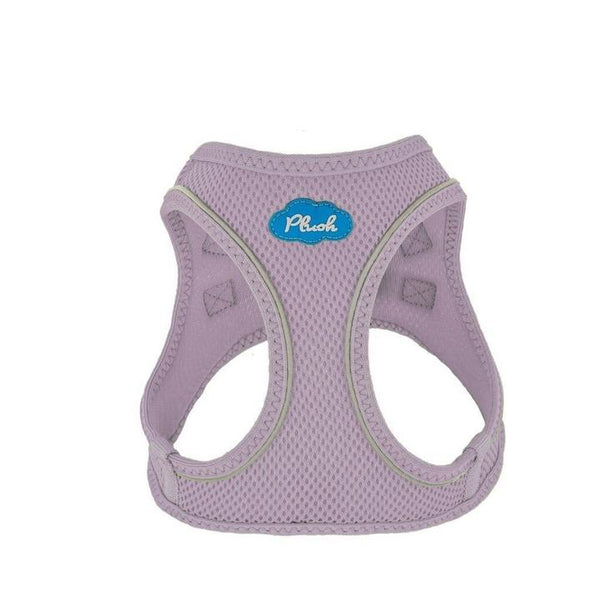 PLUSH STEP IN AIR MESH HARNESS - LAVENDER FROST, Harness - Bones Bizzness