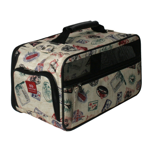 POSTAGE STAMP CLASSIC DOG CARRIER, Carriers - Bones Bizzness