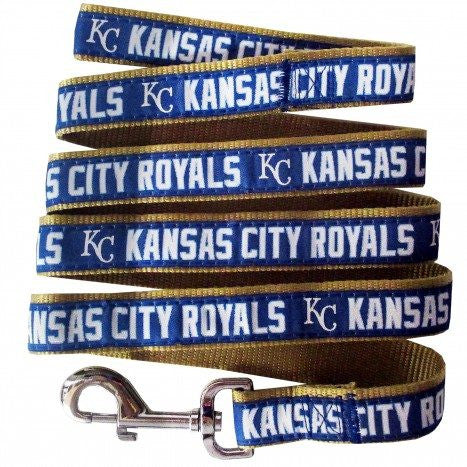 KANSAS CITY ROYALS DOG LEASH – RIBBON, MLB - Bones Bizzness