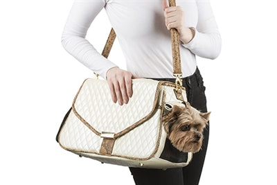 SIERRA IVORY DOG CARRIER