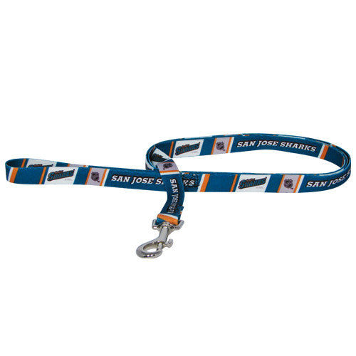 SAN JOSE SHARKS DOG LEASH, NHL - Bones Bizzness