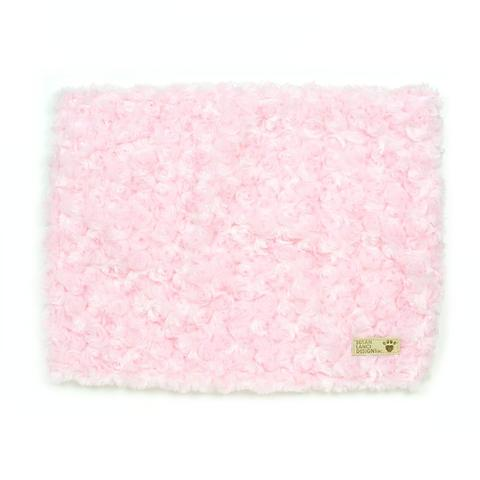 PUPPY PINK SOFT CURLY SUE BLANKET