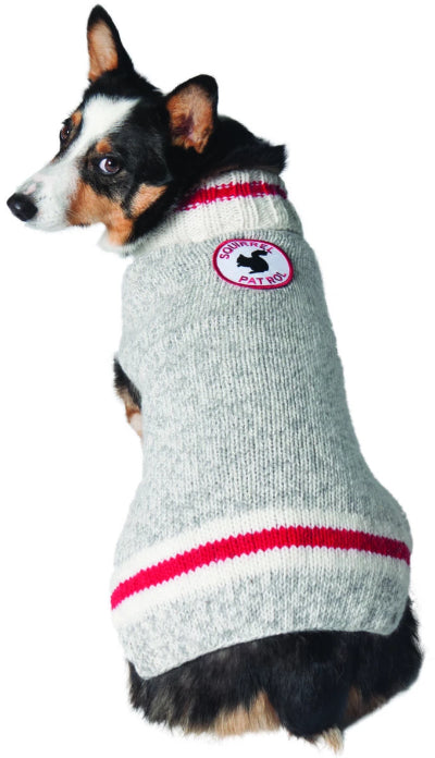 SQUIRREL PATROL WOOL DOG SWEATER