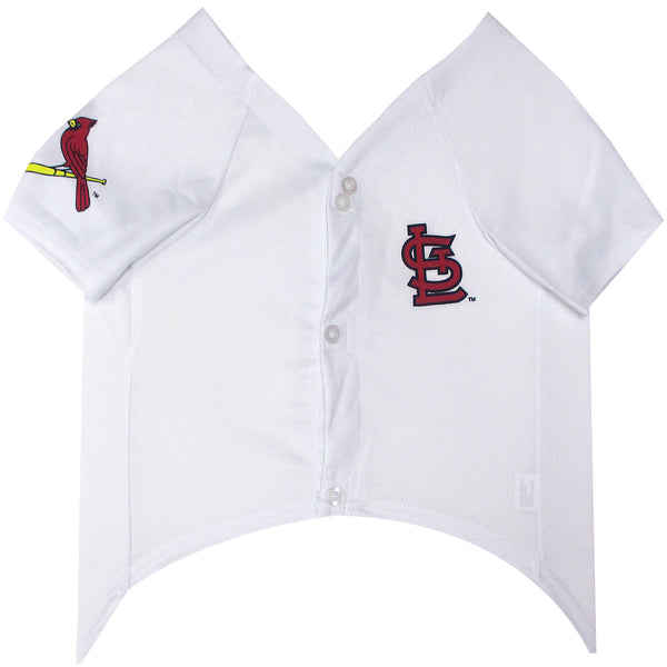 ST. LOUIS CARDINALS DOG JERSEY – WHITE, MLB - Bones Bizzness
