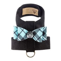 SCOTTY TINKIE BLACK W/ TIFFI PLAID BIG BOW HARNESS