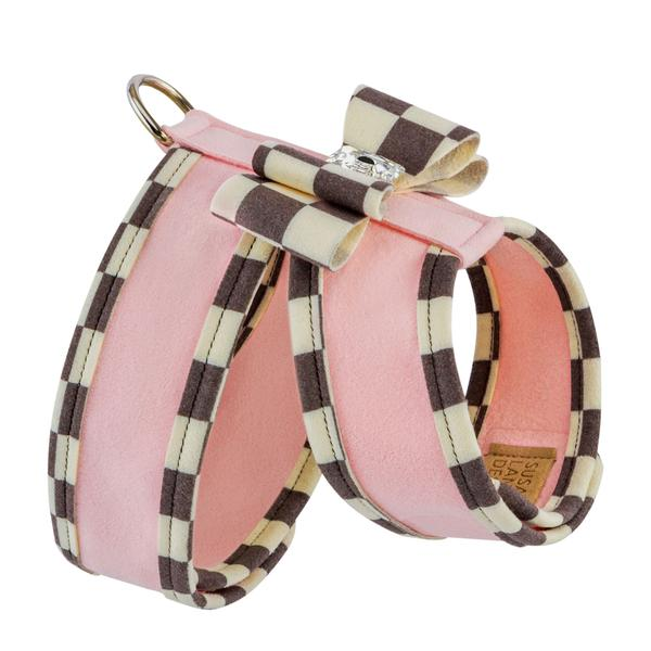 WINDSOR CHECK TWO TONE TINKIE HARNESS, Harness - Bones Bizzness