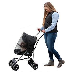 Copy of Travel Lite Pet Stroller - Black, Strollers - Bones Bizzness