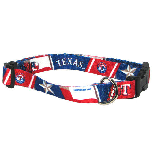 TEXAS RANGERS DOG COLLAR, MLB - Bones Bizzness