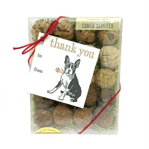 Thank you Gift Card Box Dog Treats
