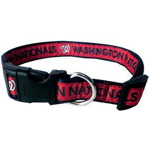 WASHINGTON NATIONALS DOG COLLAR – RIBBON, MLB - Bones Bizzness
