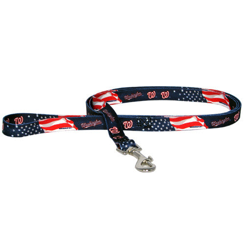 WASHINGTON NATIONALS DOG LEASH DOG LEASH, MLB - Bones Bizzness
