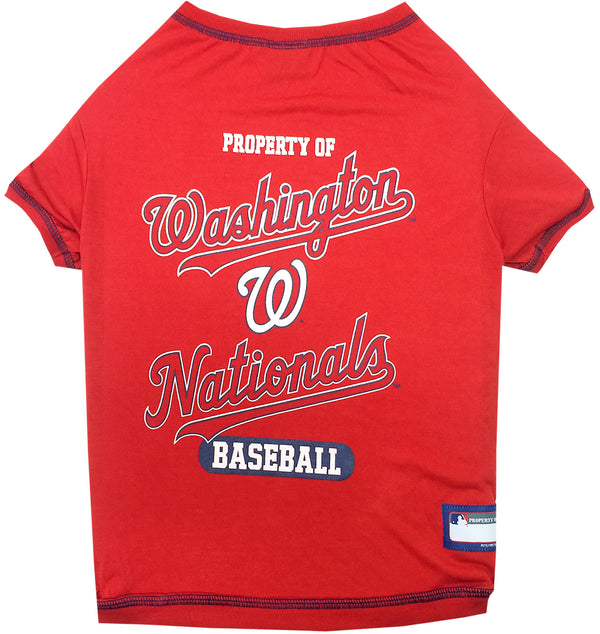 WASHINGTON NATIONALS DOG TEE SHIRT, MLB - Bones Bizzness