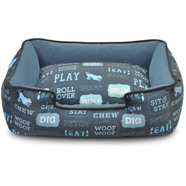 DOG'S LIFE LOUNGE DOG BED, Beds - Bones Bizzness