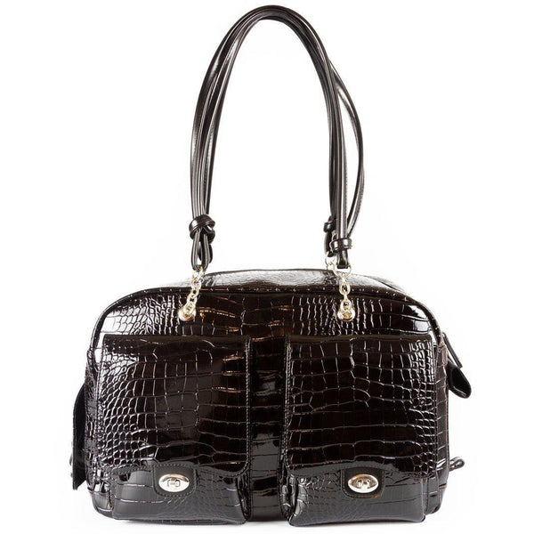 CROC ALEX BLACK DOG CARRIER