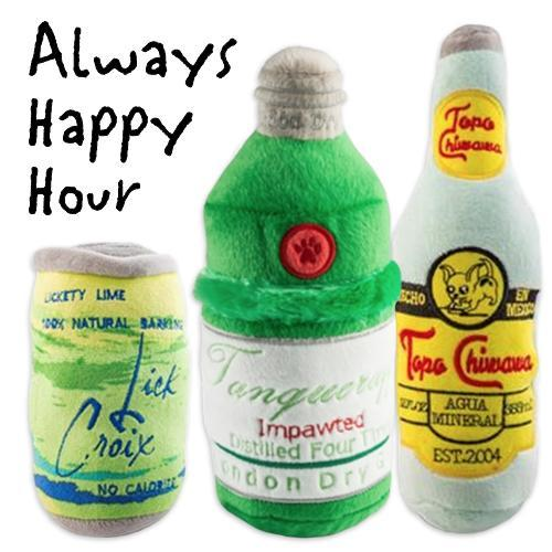 ALWAYS HAPPY HOUR DOG TOY BUNDLE
