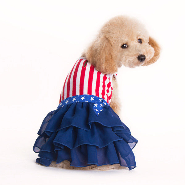 AMERICAN GIRL DOG DRESS, Dress - Bones Bizzness