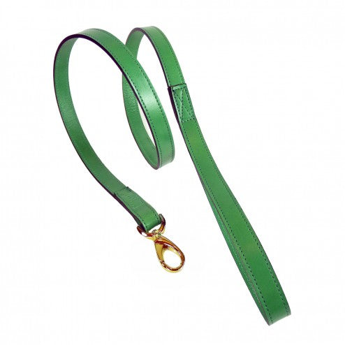 AU NATURALE IN KELLY GREEN DOG LEAD