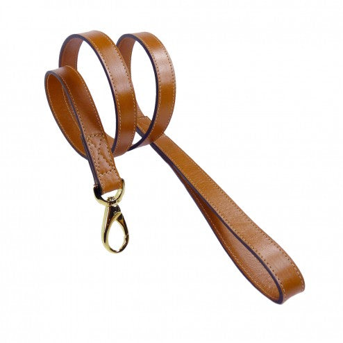 AU NATURALE IN TAN DOG LEAD