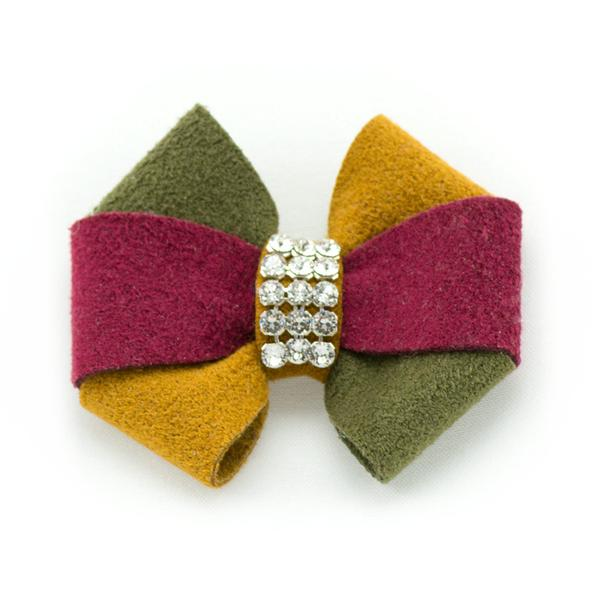 AUTUMN DOG HAIR BOWS, HAIR BOW - Bones Bizzness