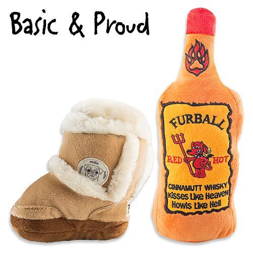 BASIC & PROUD DOG TOY BUNDLE