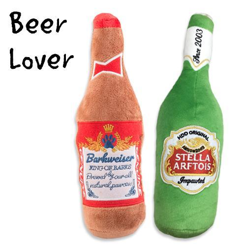 BEER LOVER DOG TOY BUNDLE