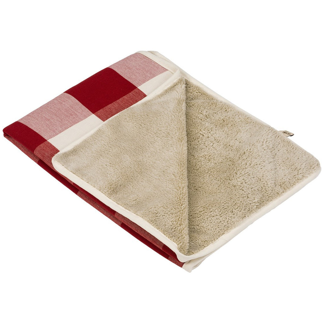 BUFFALO CHECK CRIMSON DOG BLANKET, Blanket - Bones Bizzness