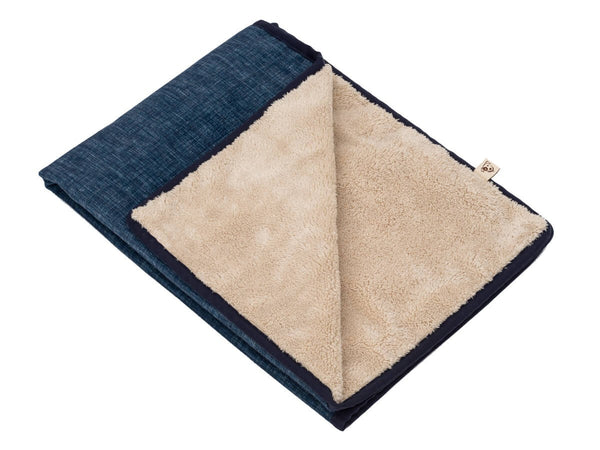 DENIM LUXURY DOG BLANKET, Blanket - Bones Bizzness