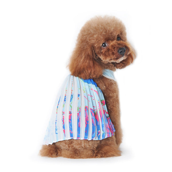 HAWAII PLEATED DOG DRESS, Dress - Bones Bizzness