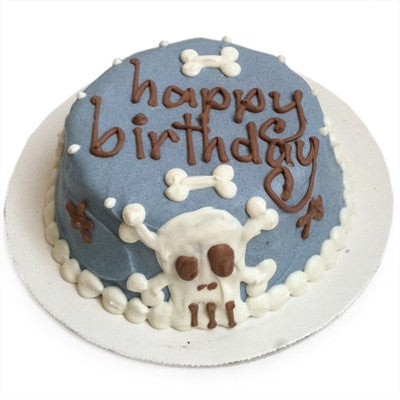 BUBBA ROSE - BLUE PUNK ROCK SKULL CAKE (PERSONALIZED)